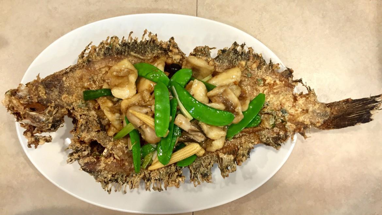 Fried Tongue Fish